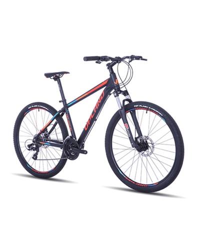 BICICLETA ARO 27.5 UPLAND X90 NEGRO/AZUL/ROJO
