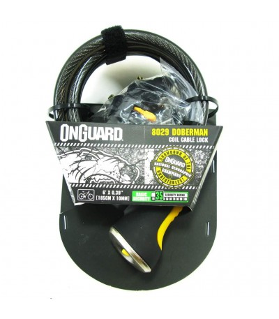 CABLE ONGUARD DOBERMAN CON LLAVE