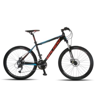 BICICLETA ARO 26 UPLAND VANGUARD 200 NEGRO/AZUL/ROJO